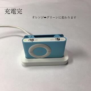 アップル(Apple)のiPod shuffle 2世代 1GB スカイブルー3(ポータブルプレーヤー)