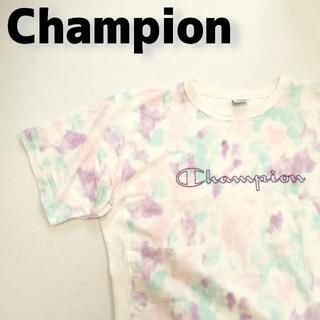 チャンピオン(Champion)のチャンピオン Champion リバースウィーブ マーブル柄 総柄 Tシャツ .(Tシャツ/カットソー(半袖/袖なし))