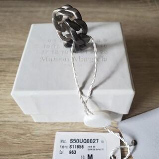 マルタンマルジェラ(Maison Martin Margiela)の新品未使用★メゾンマルジェラ★チェーンリング(リング(指輪))