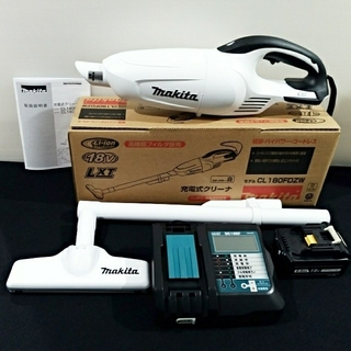 Makita - 新品✦未使用✧掃除機 マキタ✦ 18V充電式クリーナー✦ 充電器バッテリーセット