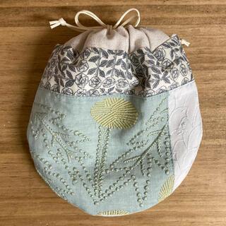 mina perhonen - 【ハンドメイド】ミナペルホネン  巾着袋