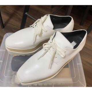 ステラマッカートニー(Stella McCartney)のステラマッカートニー エリスプラットフォームシューズ(ローファー/革靴)