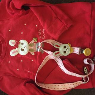 mikihouse - ミキハウスのサスペンダーとお洋服
