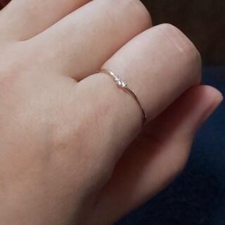 ★kco様専用★K18PG ダイヤモンド リング(リング(指輪))
