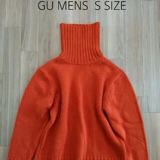 ジーユー(GU)のGU メンズ タートルネックニット(ニット/セーター)