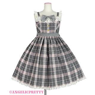 Angelic Pretty - おめかしBearジャンパースカート