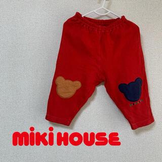 mikihouse - 本日限り《美品》MIKIHOUSE レトロ パンツ 100cm 赤
