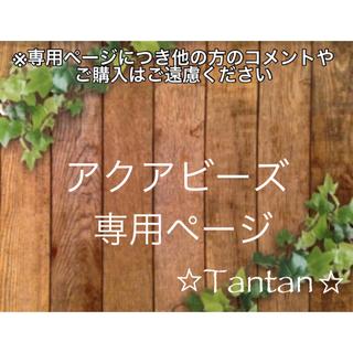 即購入NG☆アクアビーズ100個✕10袋♡変更追加出来ます♡(その他)