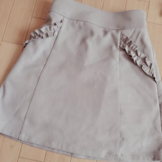MAJESTIC LEGON - 美品♡フリルポケットAラインスカート