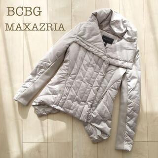 BCBGMAXAZRIA - BCBG MAXAZRIAダウンジャケット ベージュXSハーフコート