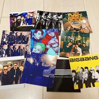 ビッグバン(BIGBANG)のBIGBANG ブロマイド 10枚セット(K-POP/アジア)
