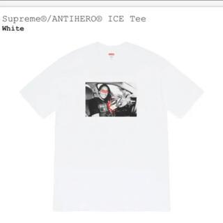シュプリーム(Supreme)の新品 Supreme × ANTIHERO ICE TEE WHITE M(Tシャツ/カットソー(半袖/袖なし))