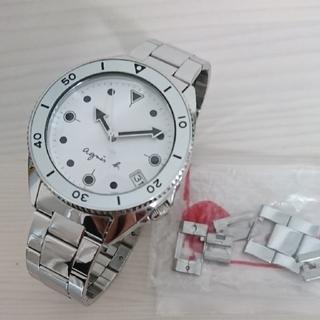 agnes b. - アニエスべー  アナログ腕時計