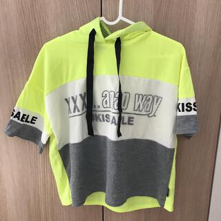 アナップ(ANAP)のANAP 半袖パーカー 160(Tシャツ/カットソー)