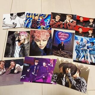 ビッグバン(BIGBANG)のBIGBANG ジヨン ブロマイド 11枚セット(K-POP/アジア)