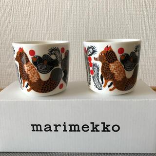 マリメッコ(marimekko)のマリメッコ マグカップ marimekko KETUNMARJA ラテマグ(食器)