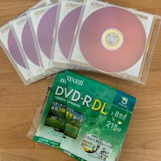 マクセル(maxell)の録画用 DVD-R DL 片面二層 5枚(その他)