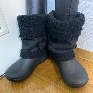 crocs - クロックス ブーツ 防水ブーツ ボアブーツ レインブーツ