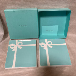 ティファニー(Tiffany & Co.)のティファニー ボウデザート プレート 2枚 新品 ブルーボックス ブルーリボン(食器)