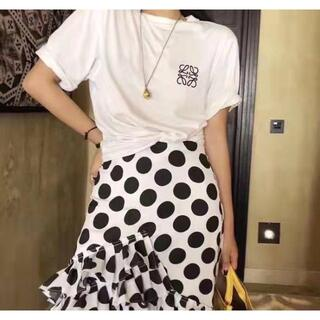 LOEWE - ロエベ ロゴ  半袖 Tシャツ