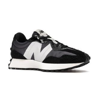 ニューバランス(New Balance)のNew Balance 327 Black Grey (W)(スニーカー)