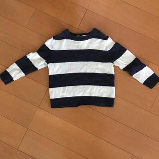 エイチアンドエム(H&M)のキッズ 92㎝ ボーダーニット セーター(ニット)