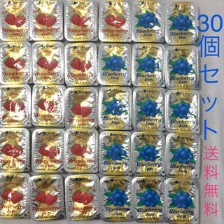 30個セット❤︎送料無料【ストロベリージャム】【ブルーベリージャム】(パン)