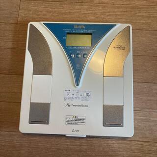 タニタ(TANITA)のTANITA体重計体脂肪(体重計/体脂肪計)