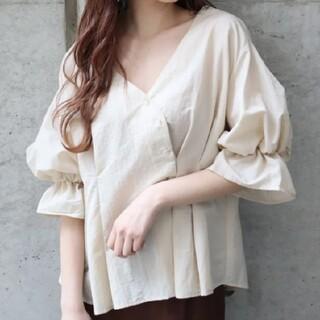 MURUA - カシュクールタックシャツ(タグ付)