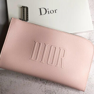 ディオール Dior ノベルティポーチピンク箱なし