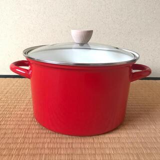 ニトリ(ニトリ)のホーロー鍋 寸胴鍋(鍋/フライパン)