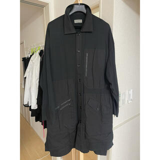 Yohji Yamamoto - ヨウジヤマモトプールオム 19ss India Long Shirt Coat