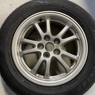 ダンロップ(DUNLOP)の50プリウス 純正装着ホイールタイヤセット 4本 195/65R15(タイヤ・ホイールセット)
