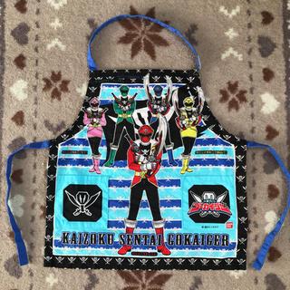 バンダイ(BANDAI)のエプロン 海賊戦隊ゴーカイジャー バンダイ(お食事エプロン)