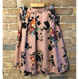 tocco - tocco ピンクの花柄スカート