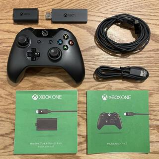 エックスボックス(Xbox)のXBOX Oneワイヤレスコントローラーとワイヤレスアダプターセット(その他)