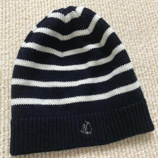 プチバトー(PETIT BATEAU)のプチバトー    マリニエールニットキャップ ニット帽(帽子)
