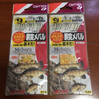 釣り針 胴突メバル 9号(釣り糸/ライン)