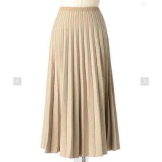 Drawer - Drawer 16Gヘリンボーンプリーツニットスカート