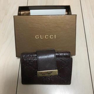 Gucci - GUCCI シマ キーケース
