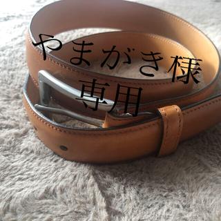 EDWARD GREEN - ★エドワードグリーン レザーベルト★
