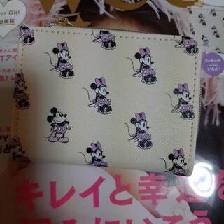 タカラジマシャ(宝島社)のsweet付録☆ミニー&隠れミッキー開運ウォレット(財布)