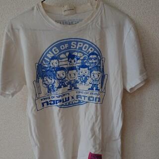 シマムラ(しまむら)の新日本プロレス×鉄腕アトムコラボTシャツ(格闘技/プロレス)