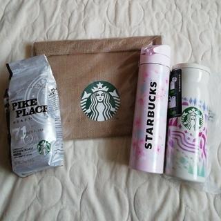 Starbucks Coffee - STARBUCKS スターバックス福袋2021 4点セット SAKURA サクラ