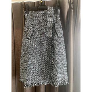 Mystrada - マイストラーダ ツイード スカート