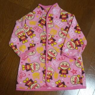 アンパンマン - アンパンマン フリースガウン90 ピンク