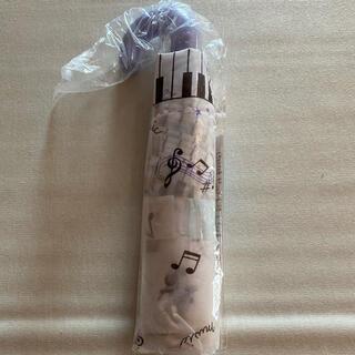 音符柄折りたたみ傘(傘)