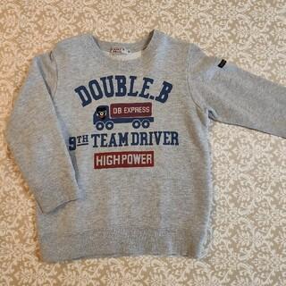 ダブルビー(DOUBLE.B)のダブルB トレーナー 100(Tシャツ/カットソー)