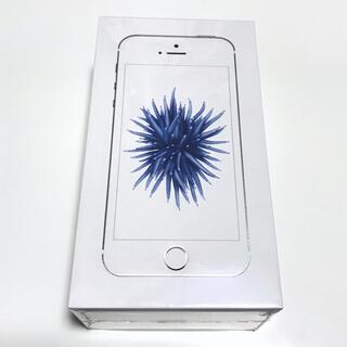 iPhone - iPhone SE 64GB シルバー SIMフリー A1723