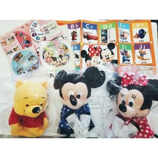 ディズニー(Disney)のまゆ様専用 ミニーパペット+ポスター(ぬいぐるみ/人形)